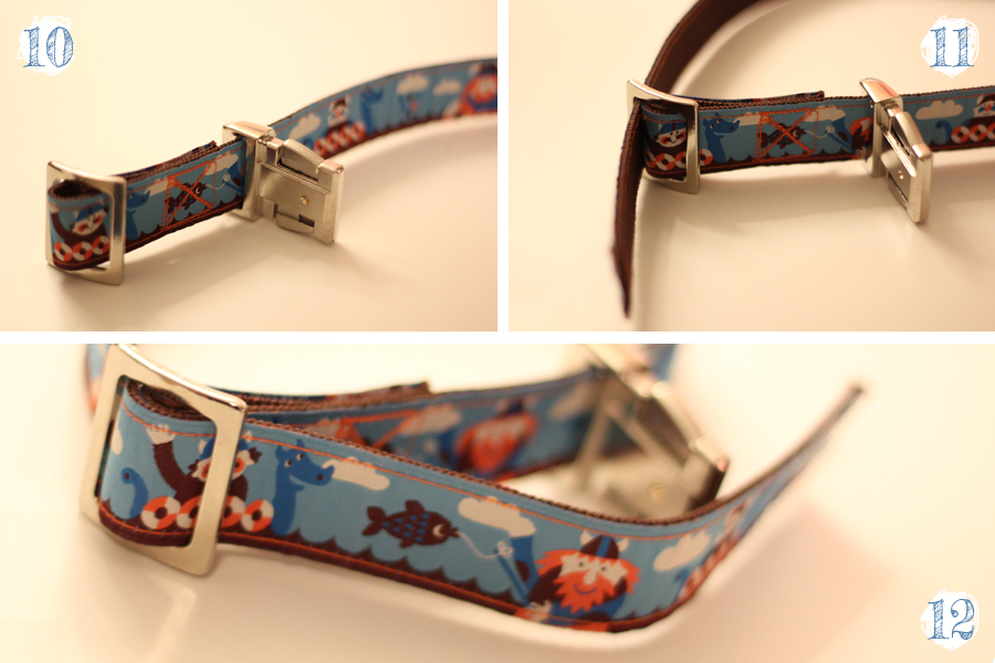 Metallschnalle Hundehalsband