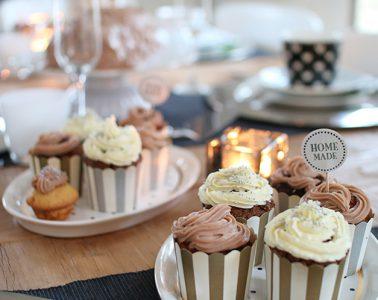 erster Geburtstag Tischdeko Cupcake