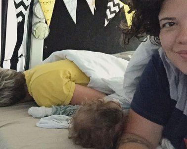 Baby lernt schlafen