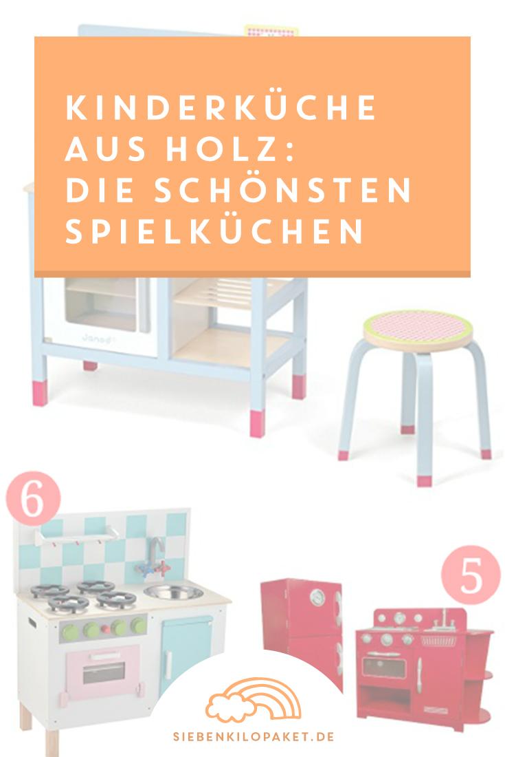 KinderkUche Holz Mit Funktion ~ Kinderküche aus Holz die schönsten Spielküchen  Siebenkilopaket