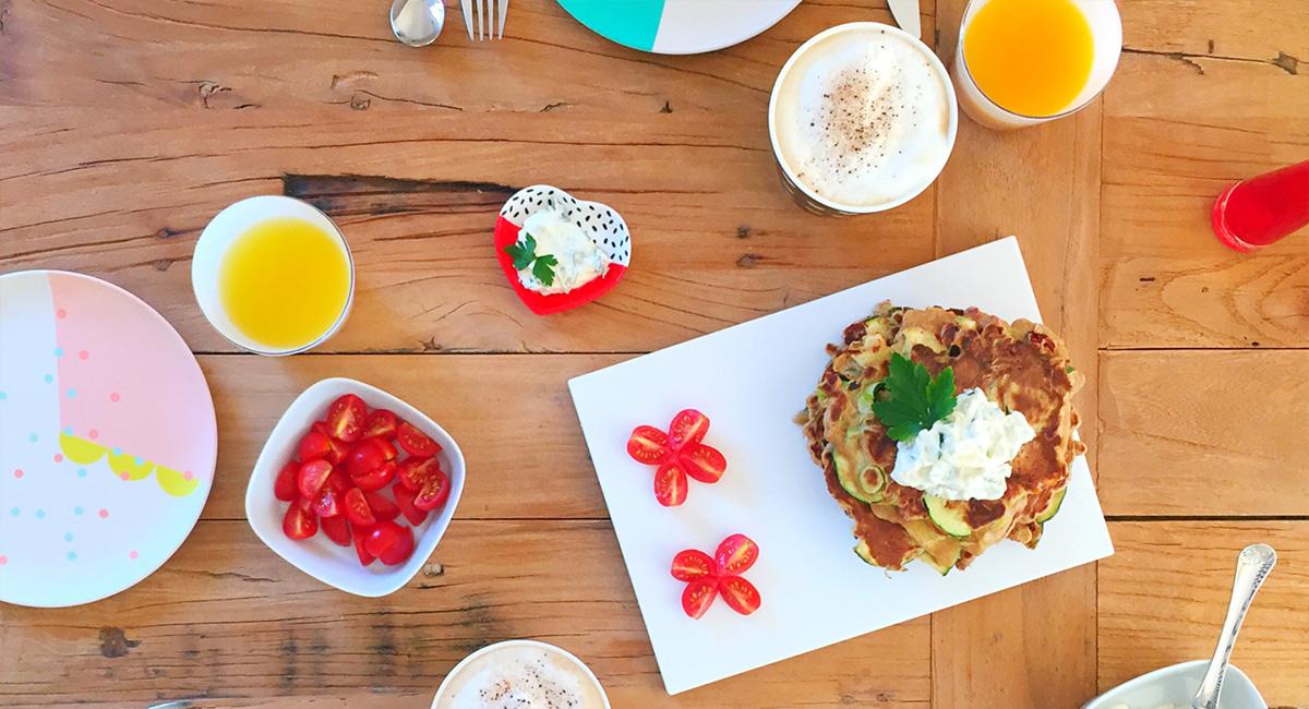 Ikea Patrull Fast Safety Gate Reviews ~ Pfannkuchen Rezept Herzhaftes Frühstück mit Zucchini und Parmesan