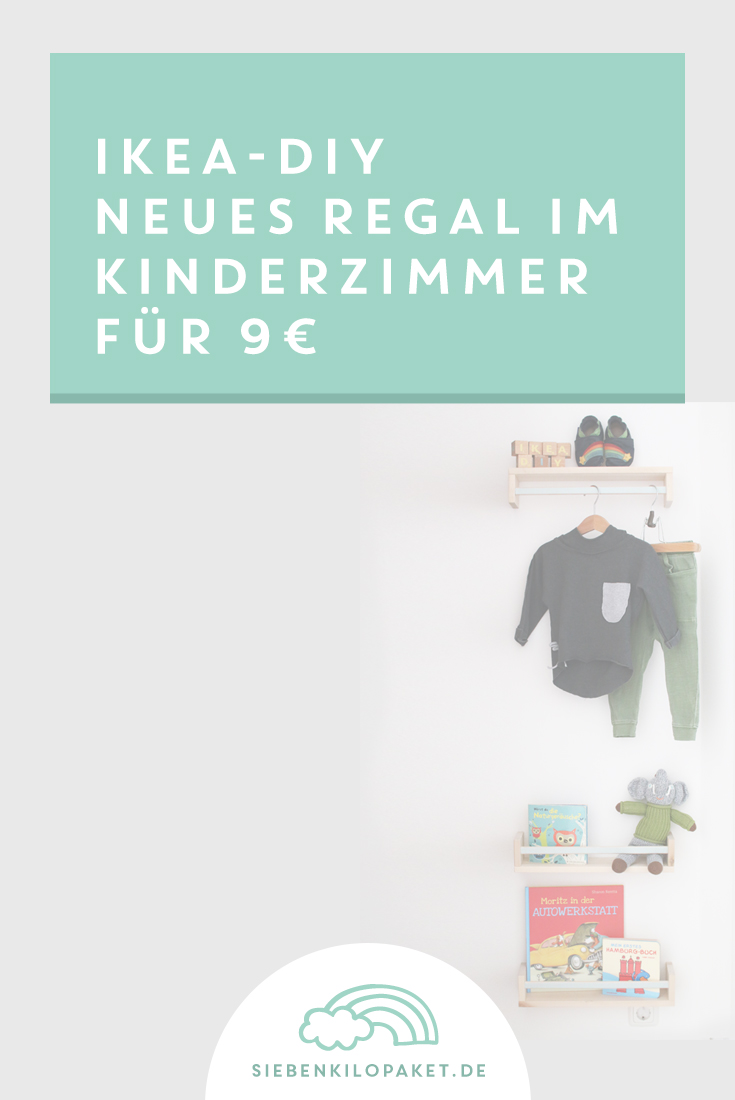 neues regal im kinderzimmer f r 9 ikea bekv m der blog. Black Bedroom Furniture Sets. Home Design Ideas