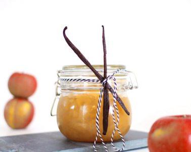 Apfelmarmelade Rezept Apfel Orangen Vanille Konfitüre mit Schuss