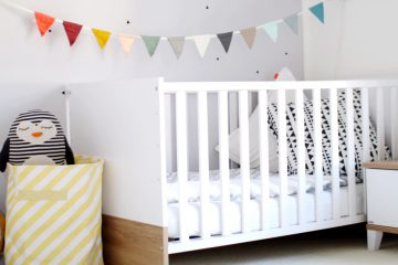 Kinderzimmer Einrichtungsideen skandinavisch bunt