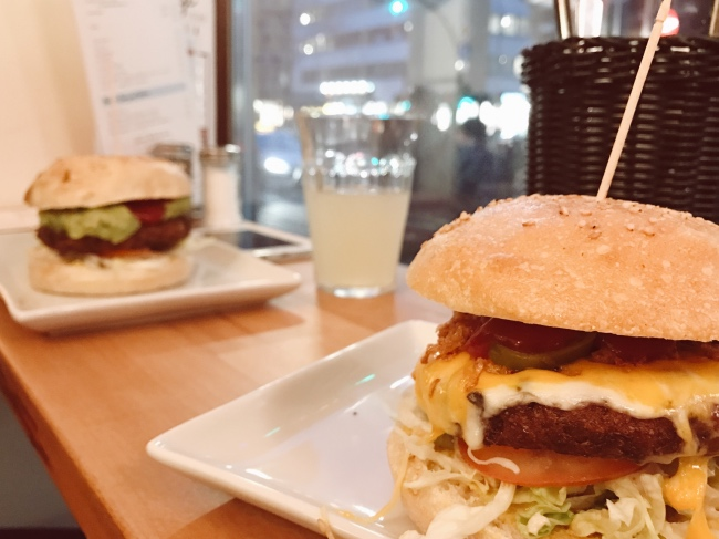 Vegetarisch Vegan Burger Restaurant Hamburg