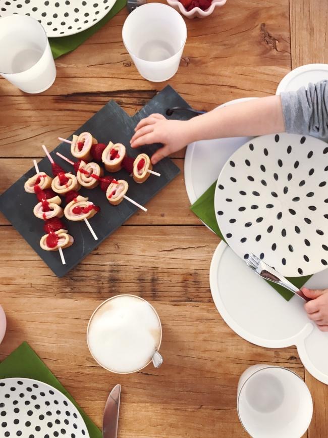 Pfannkuchen Spieße Rezept