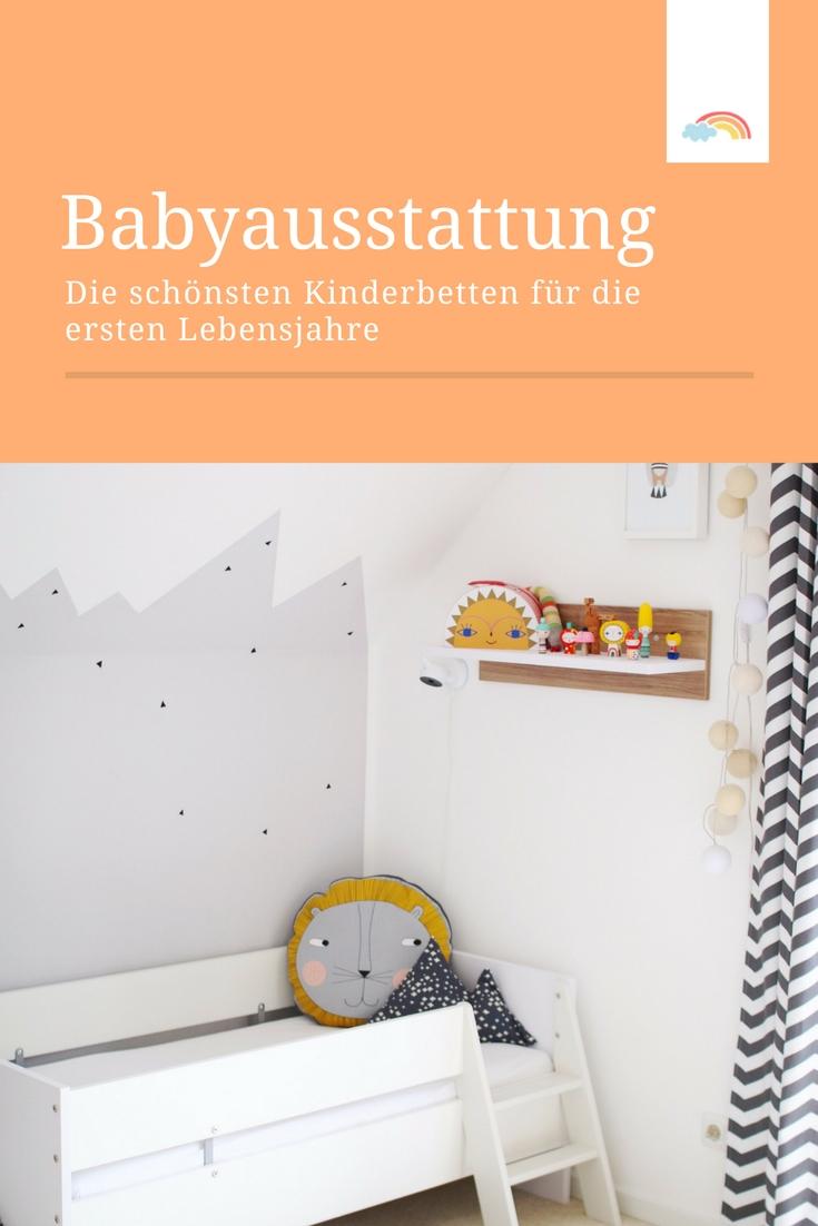 Ideen fürs Kinderzimmer: die schönsten Kinderbetten für die ersten Lebensjahre