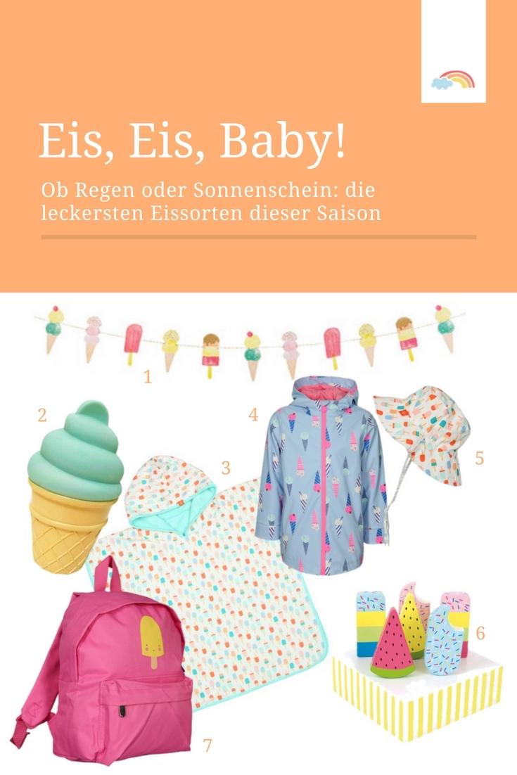 Eiskalter Sommertrend - die besten Eissorten der Saison! Mode, Spielzeug und Deko in Eisform