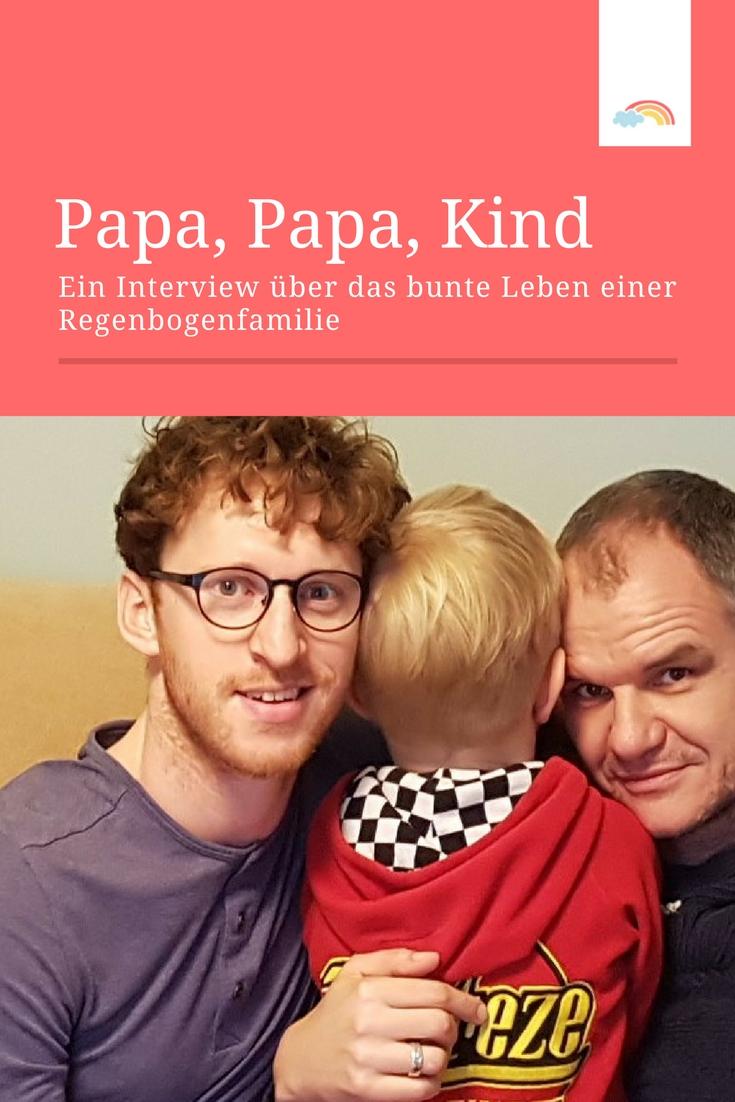 Zwei Väter erzählen - wie ist das Leben als Regenbogenfamilie?