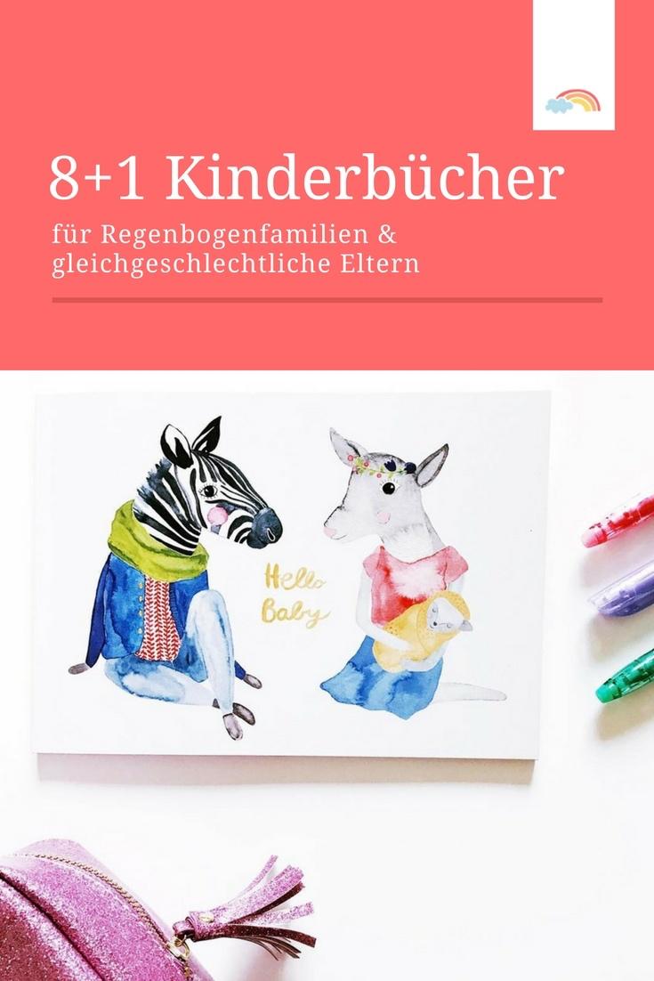 Kinderbücher für Regenbogenfamilien und gleichgeschlechtliche Eltern: 8 Empfehlungen + 1 Extra-Tipp!