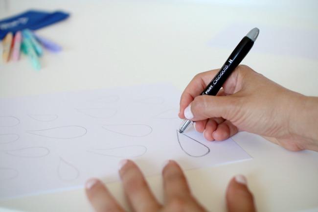 Basteln mit Kindern: Mobile aus Papier selber machen