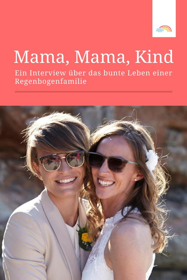 Interview mit einer Regenbogenfamilie to be: so ist das, wenn zwei Frauen ein Kind bekommen 🌈