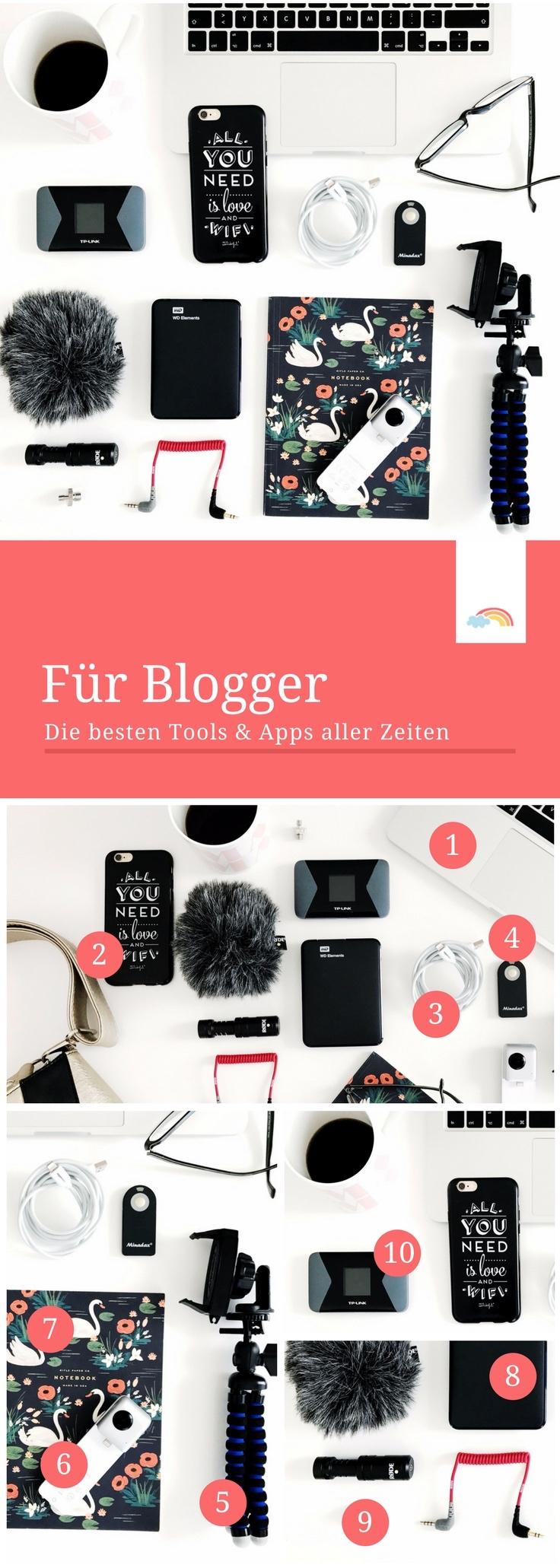 Die besten Tools für Blogger - Organisation Arbeit erleichtern Mamablog Reiseblog