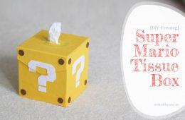 Tissue Box DIY Super Mario