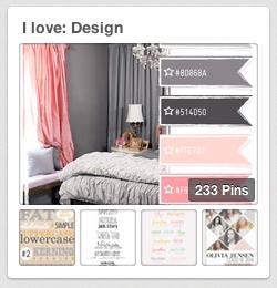I love: Design