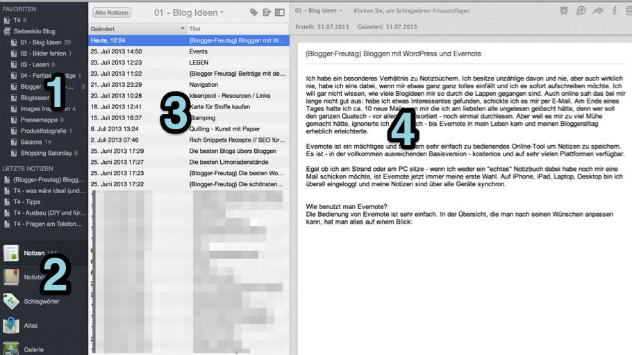 Bloggen mit WordPress und Evernote
