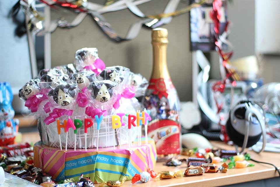 geburtstag feiern mit hunde cake pops der blog f r regenbogenfamilien. Black Bedroom Furniture Sets. Home Design Ideas