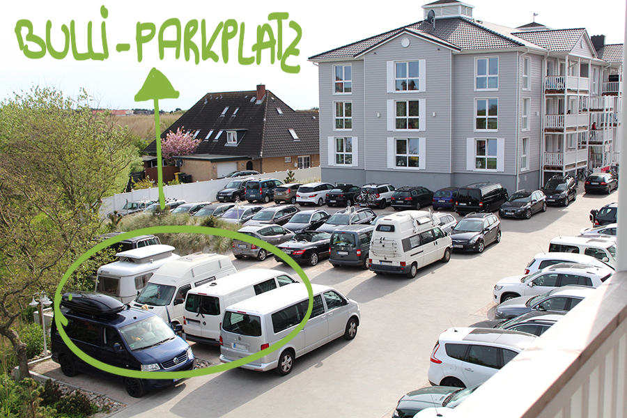 Bulli-Parkplatz Sankt Peter Ording
