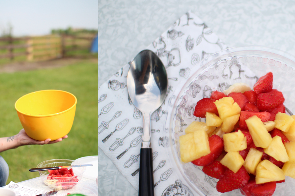 Frühstück in der Natur
