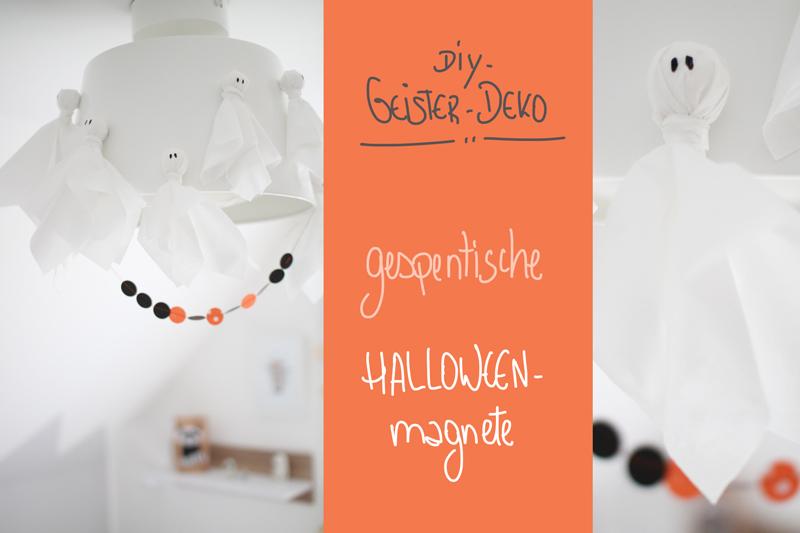 Geister-Deko-Halloween-Magnete