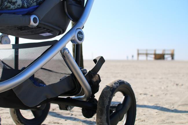 Kinderwagen für den Strand