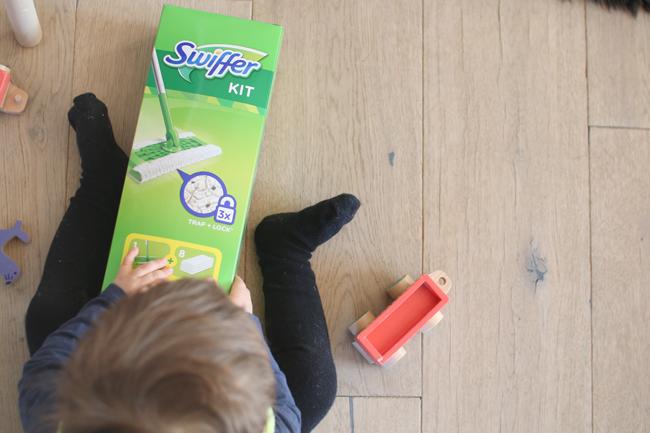 Wie häufig mit Kind und Hund saubermachen