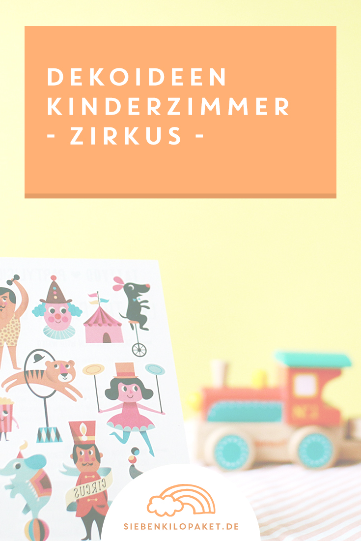 Dekoideen-Kinderzimmer-Zirkus