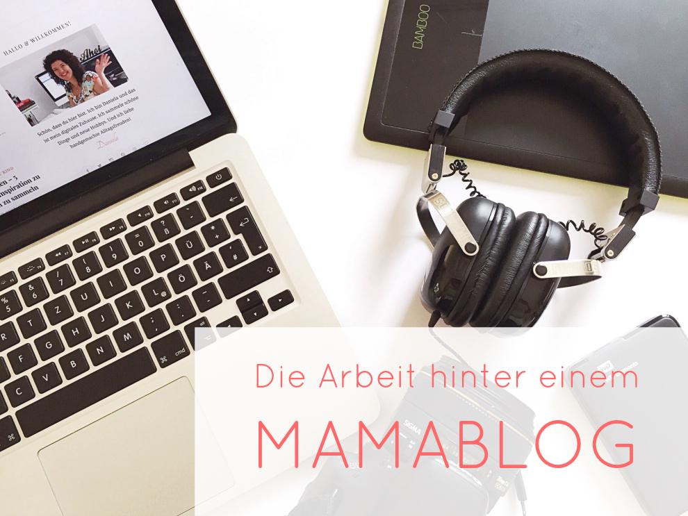 Die Arbeit hinter einem Mamablog Pin