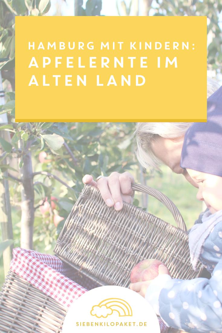Hamburg mit Kindern: Apfelernte Altes Land. Ein wunderschöner Ausflug in die Natur 🍎