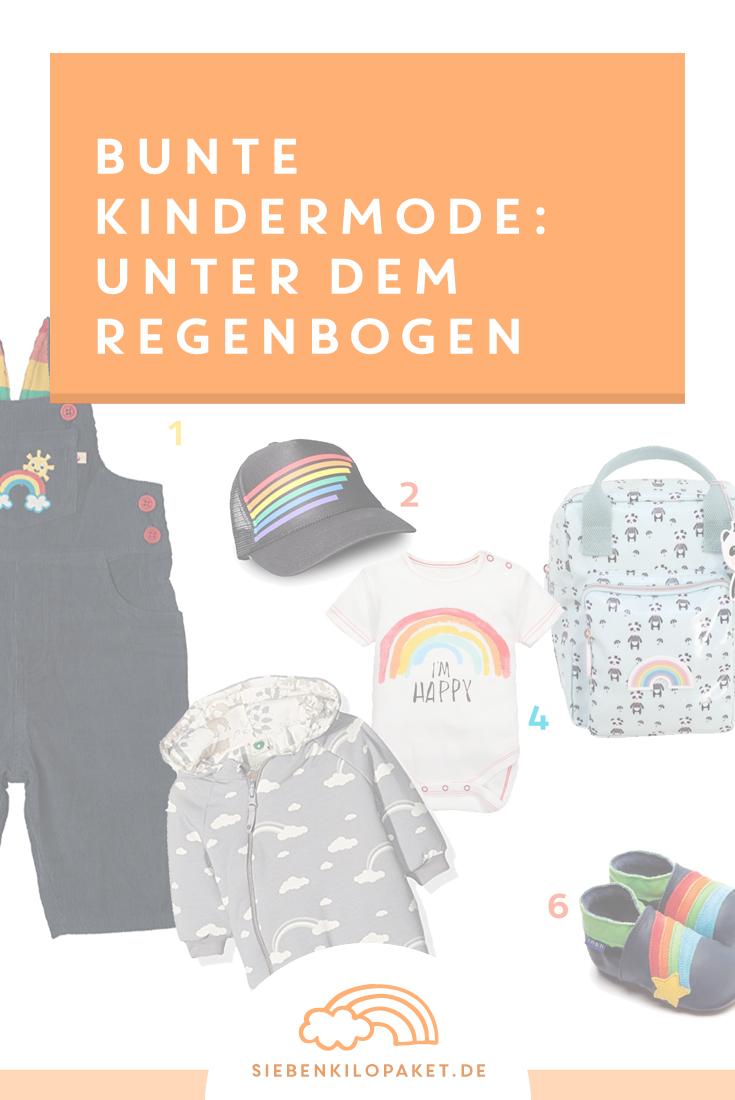 Farbenfrohe Kindermode die Laune macht: Regenbogenliebe bunte Kinderkleidung