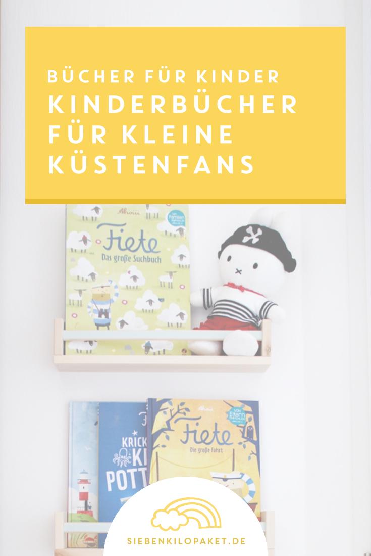 Lesen mit Kindern: Diese Kinderbücher sind ein Muss für alle kleinen Matrosinnen, Piraten und Küstenfans ⛵️