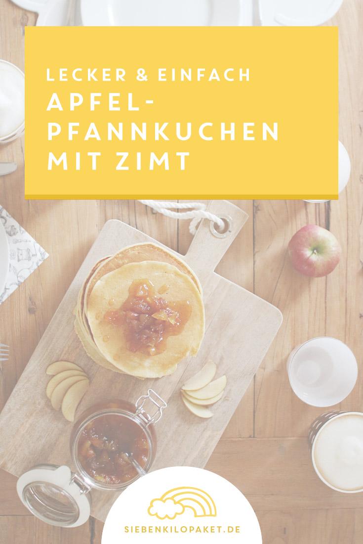 Rezept: Apfelpfannkuchen mit Zimt - super lecker und einfach gemacht!