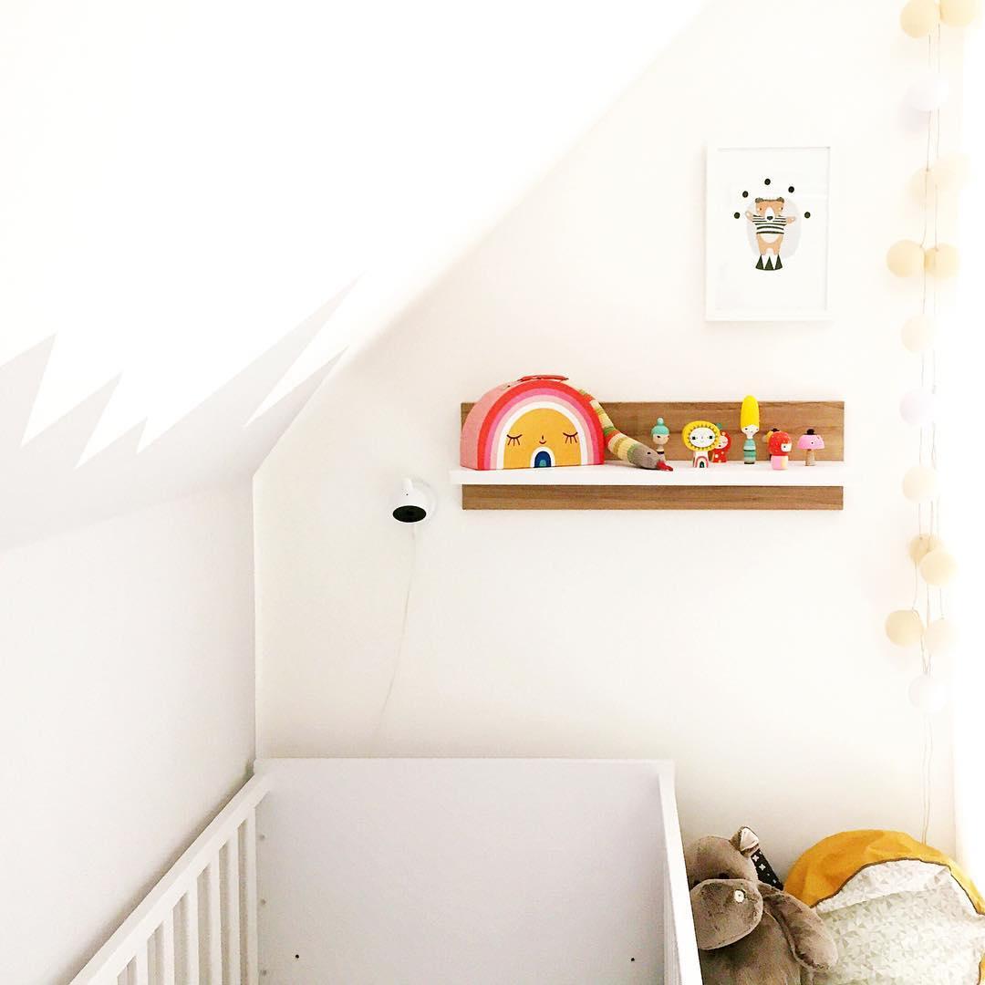 Wie Sehen Die Wandfarbe Aus In Einem Hygge Zimmer: Bei Uns Zu Hause: Unsere Kinderzimmereinrichtung