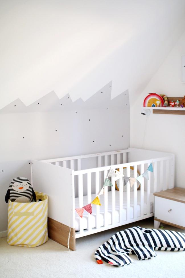 Leben mit Kindern Kinderzimmer dekorieren Ideen langlebige Kindermöbel