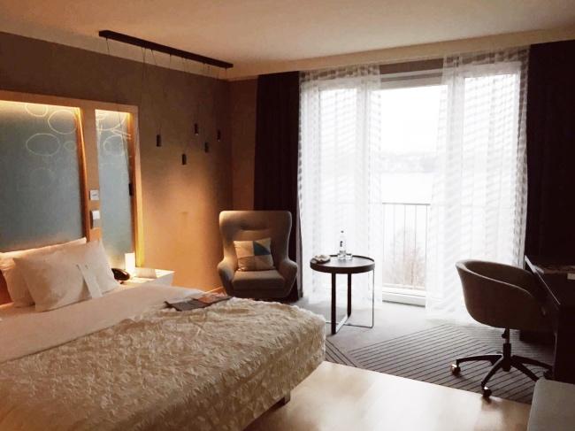 Hotel mit Alsterblick Familie Urlaub in Hamburg