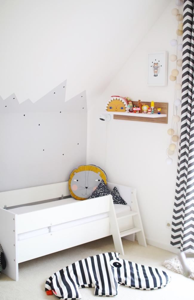 Juniorbett Umbauseiten mit Leiter