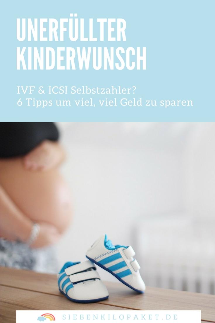 Geld sparen für den Kinderwunsch - 6 Tipps für IVF und ICSI Selbstzahler