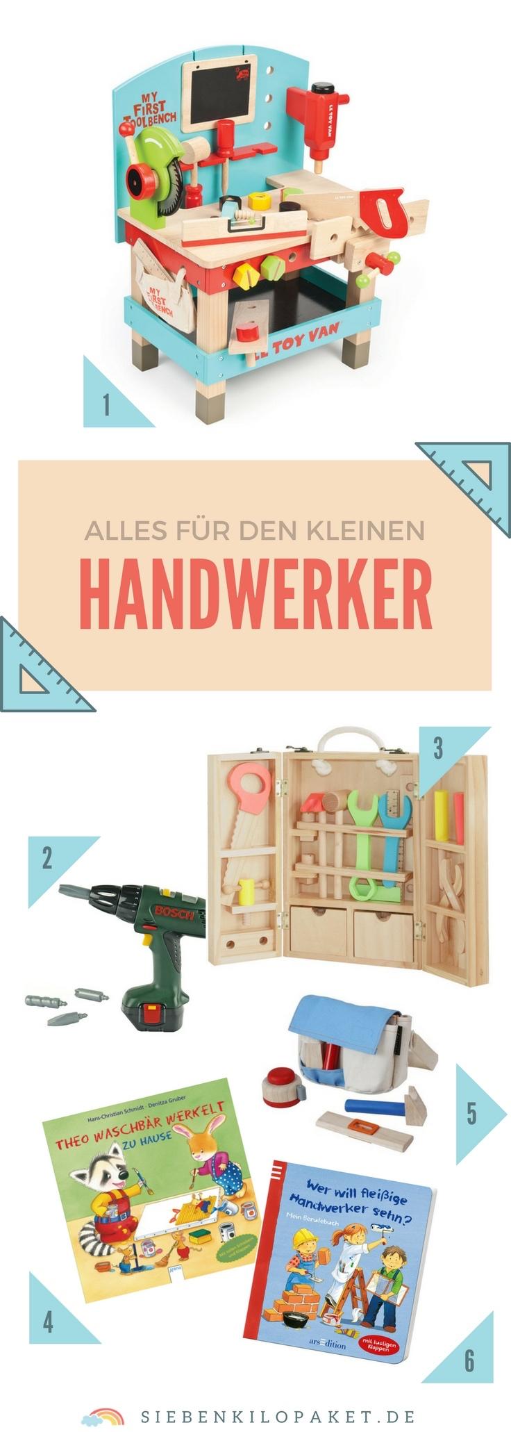 Werkbank für Kinder - Werkzeuge Spielzeug aus Holz Ideen Geschenkideen