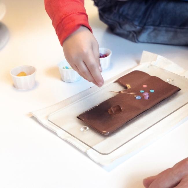 Selbstgemachte Schokolade Hamburg Chocoversum