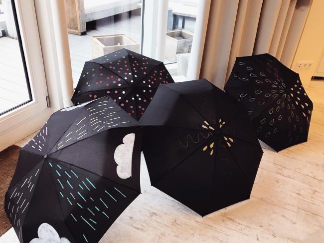 Basteln Herbst Bastelideen Regenschirm Der Blog Fur Regenbogenfamilien