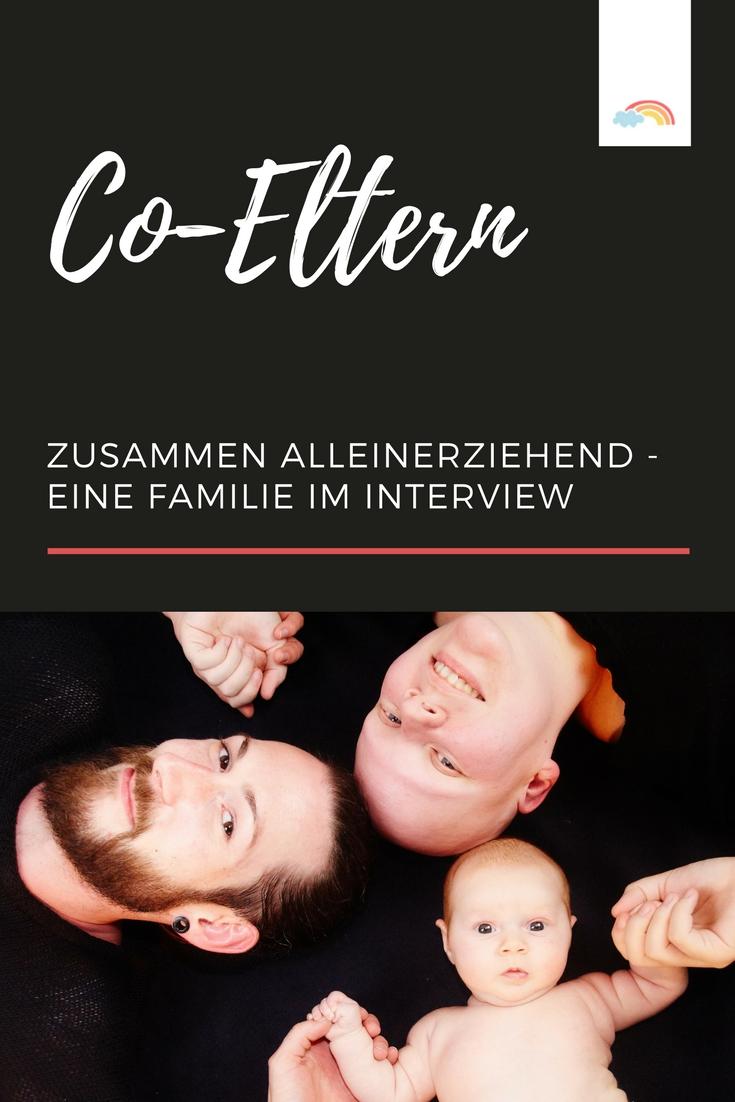 Co-Eltern: zusammen alleinstehend - Eine Regenbogen-Familie im Interview