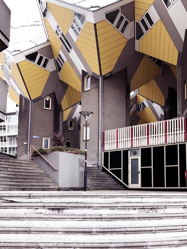 Kubushäuser Rotterdam mit Kindern Familienausflug Tipp Innenstadt was tun