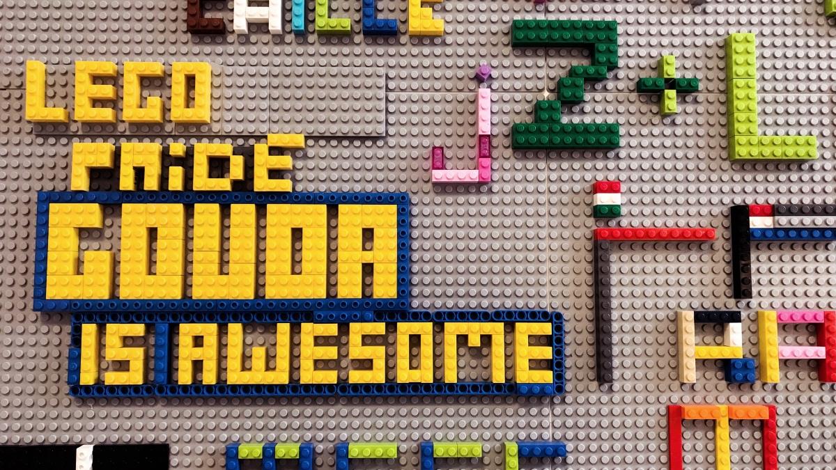 Lego Shop Gouda Südholland mit Kindern für Familien