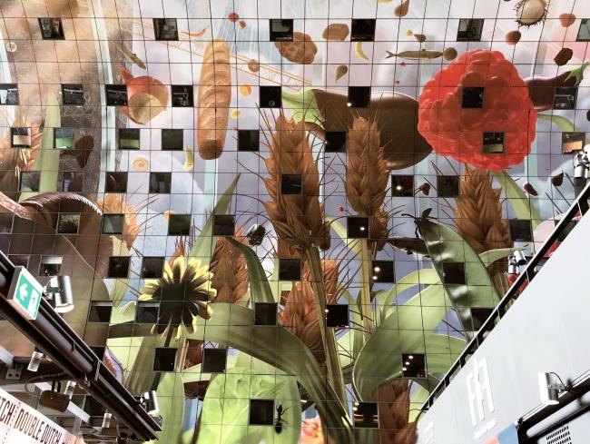 Markthal Rotterdam Decke Kunstwerk Ausflug Tipp