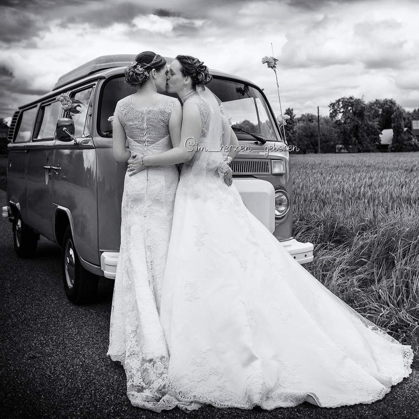Regenbogenfamilie homosexuelle Frauen heiraten Ehe für alle