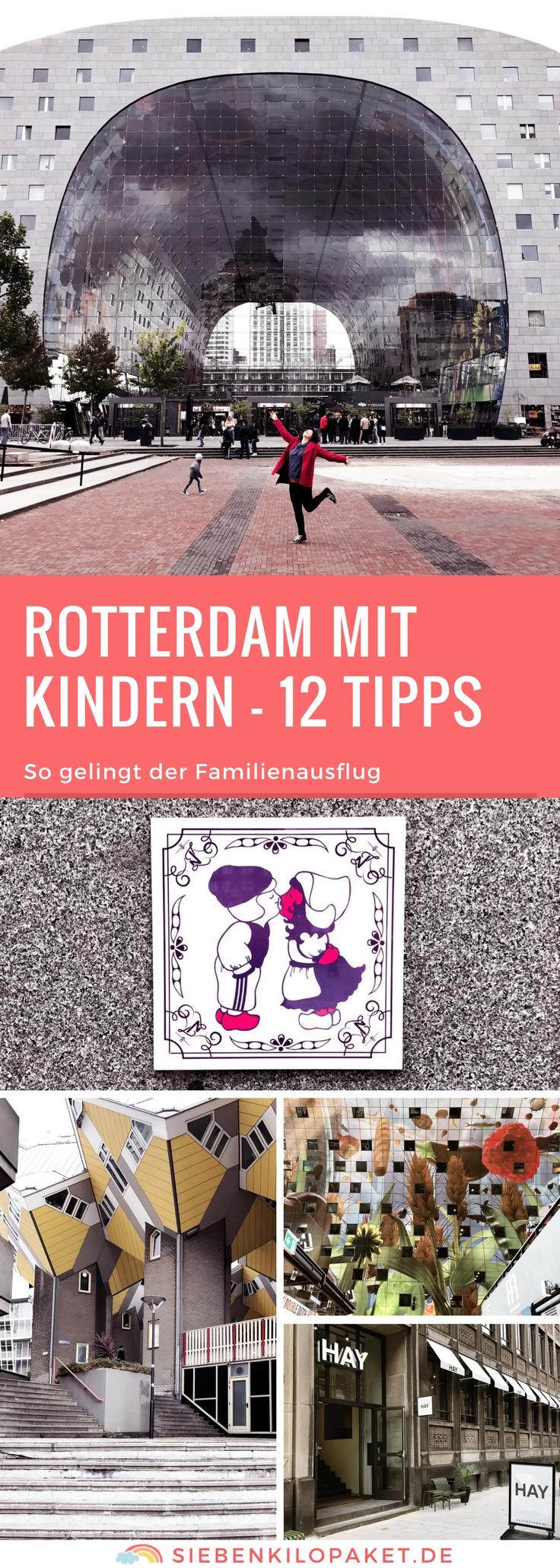 Rotterdam mit Kindern - 12 Tipps für den Familienausflug: Erleben, Essen und Shoppen in Rotterdam mit Kind
