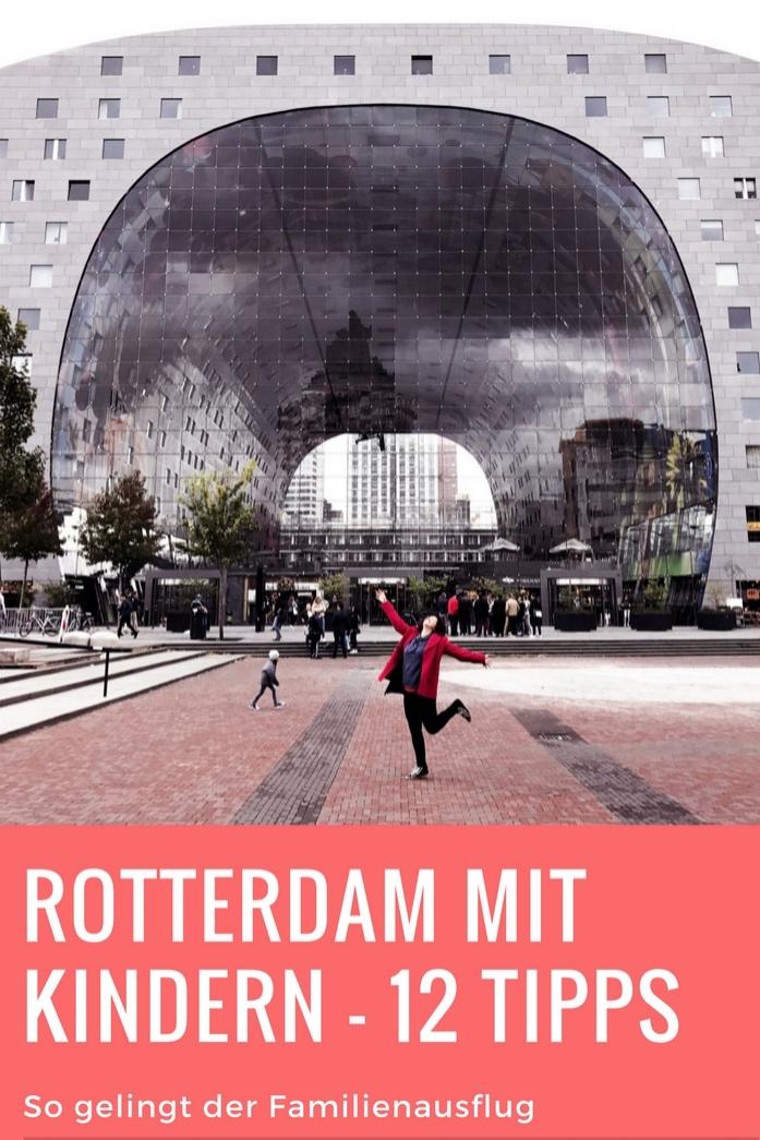 Rotterdam mit Kindern - Tipps fuer den Familienurlaub in Holland mit Kindern