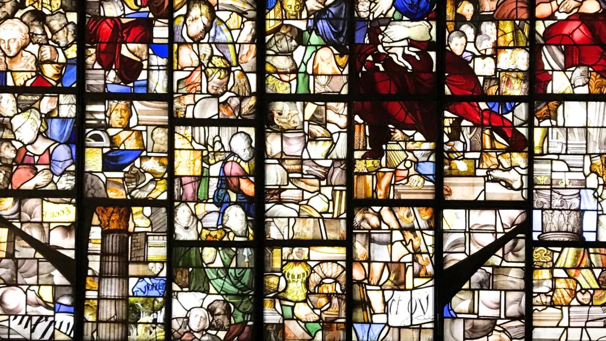 Sehenswürdigkeit Gouda Kirche Glasfenster Geschichte Südholland Ausflug