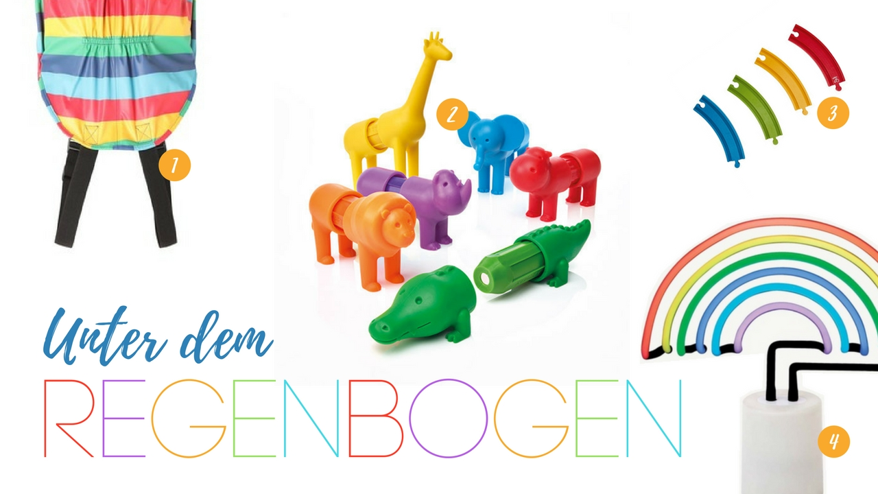 Unter dem Regenbogen - die schönsten Produkte für Kinder - Design Regenbogen