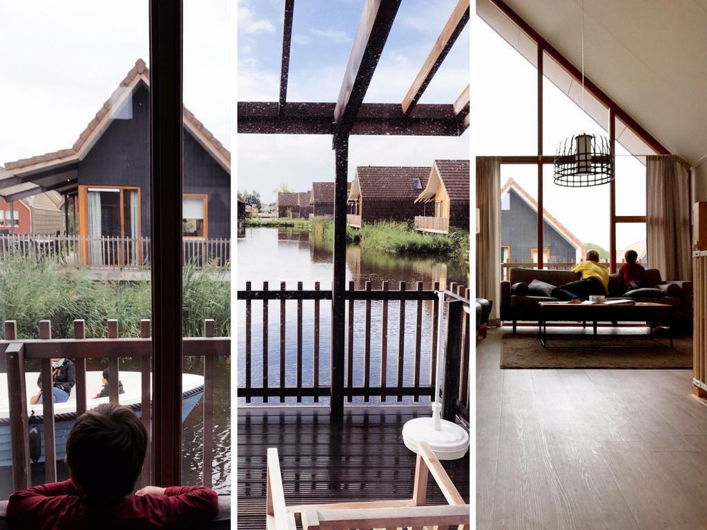 Wasserhaus Unterkunft Familienurlaub Holland Landal Greenparks Ferienpark
